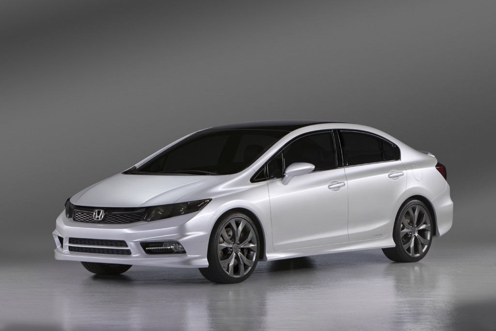 2011 honda civic coupe si. Civic Concept. Honda announced