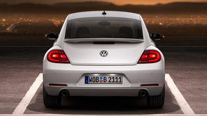 2012 VW Beetle Back